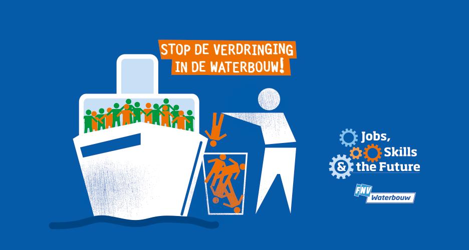 Stop de verdringing in de waterbouw!