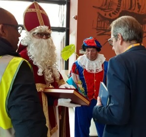 Sinterklaas bij Van Oord