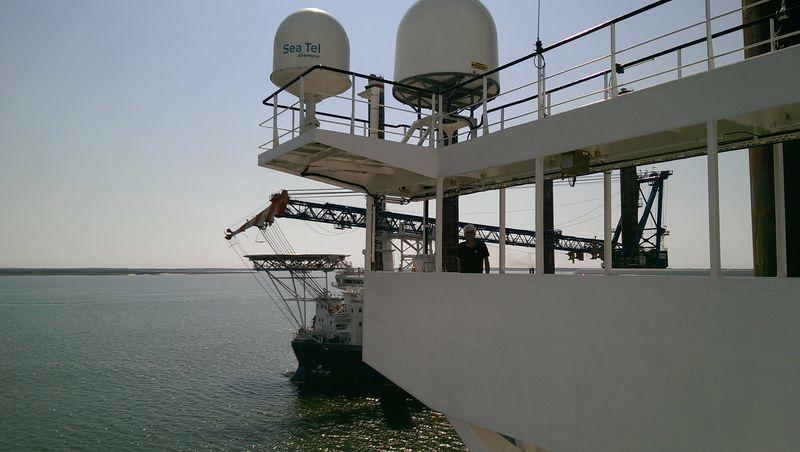 FNV Waterbouw brengt bezoek aan de Aeolus