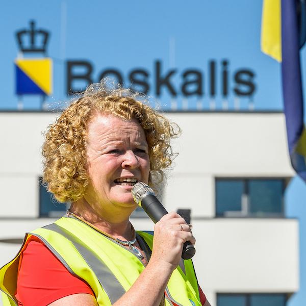 Protestactie Boskalis