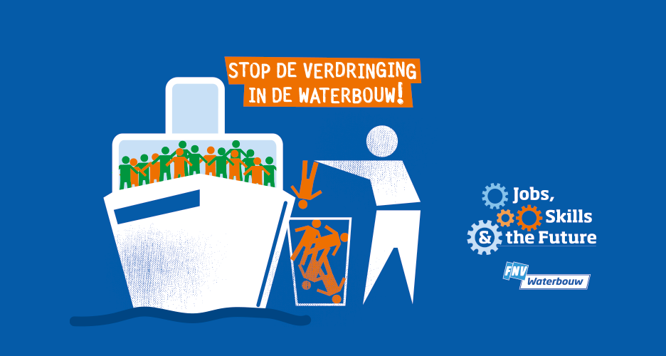 Stop de verdringing in de waterbouw!